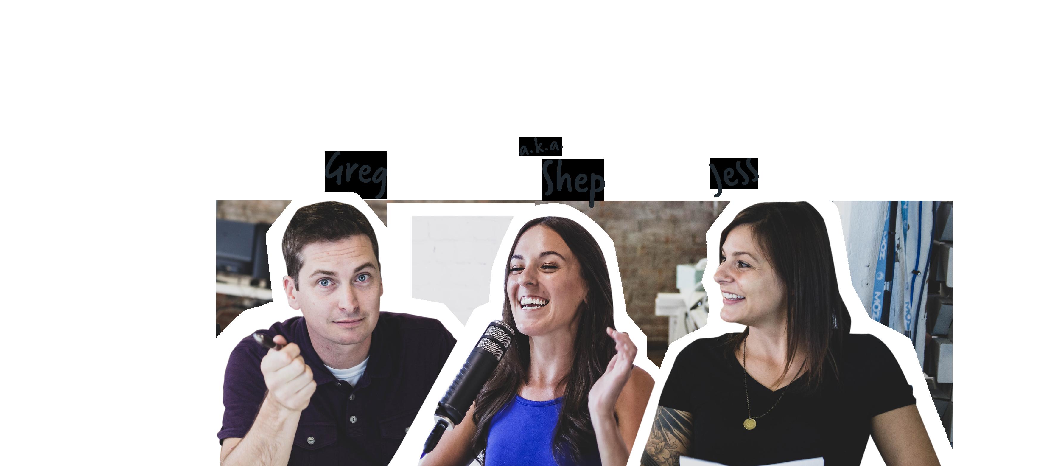 Greg, Hope, Shep and Jess from MarketingO'Clock